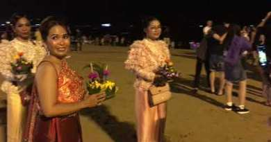 Final Halloween and Loy Krathong Celebration on Pattaya Shoreline Avenue – Thailand Nightlife October 2020
