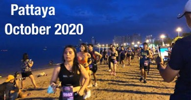 Pattaya Bikini Shoreline Hotfoot, October 2020 | Handsome Girls and Gentlemen Running For Staunch Health