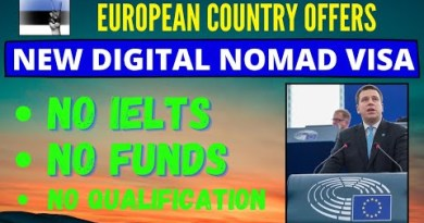 ESTONIA starts new Easy Digital Nomad Visa – Easy Requirements without funds and IELTS
