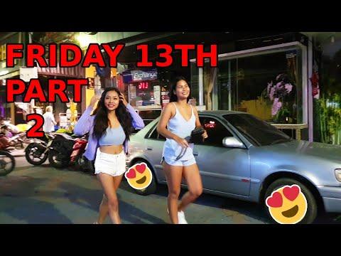 Friday thirteenth piece 2, Walking Avenue Pattaya originate. Evening Gaze, November 2020, Thailand