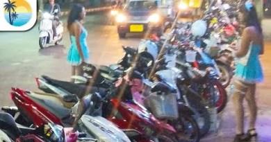 Pattaya Seaside Boulevard (4K) Thailand Evening Stroll