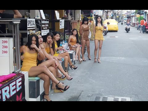 Pattaya Day Scenes: Bars Are Initiating And The Ladies Are Ready For Vacationers To Return To Thailand.