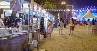 [4K] Foodfest on Pattaya Seaside. Nov 19, 2020
