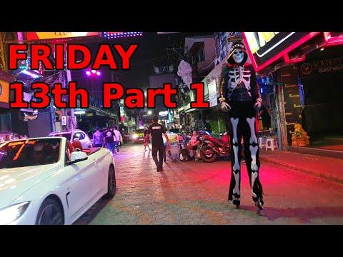 Friday thirteenth segment 1, Strolling Motorway Pattaya launch. Night Survey, November 2020, Thailand