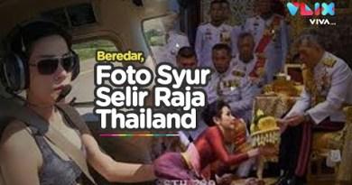 Ribuan Foto Syur Selir Raja Thailand Tersebar ke Publik