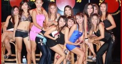Pattaya Nightlife SEXY GOOD  Ladies, Freelancer & Ladyboys soi 7 Seaside Boulevard 2015 Thailand