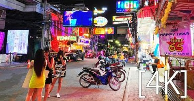 Pattaya 4K Move 2020 Nov. WalkingStreet from Hooters.