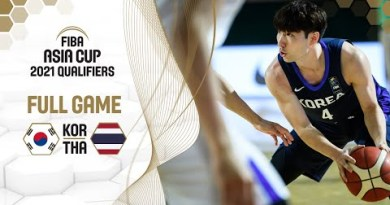 Korea v Thailand – Stout Game – FIBA Asia Cup 2021 Qualifiers