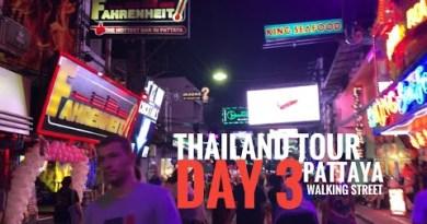Thailand  Tour | Day 3 | Pattaya Thailand and Walking Avenue | TravelVlog
