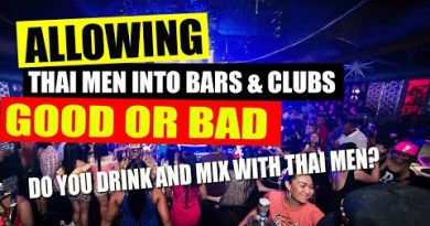 Pattaya Nightlife   Can Foreigners and Thai males drink together in Pattaya nightclubs with girls?