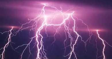 Spectacular Lightning Storm Over Pattaya Beach