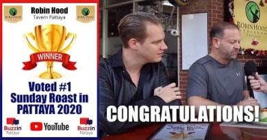 Pattaya Eating locations – Robin Hood Pattaya voted Most wonderful Sunday Roast in Pattaya 2020. Congratulations!