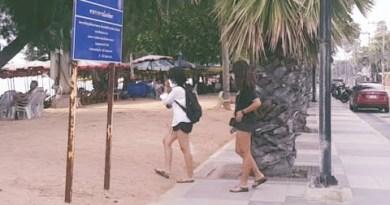 Dongtan Pattaya Coastline Thailand 15 December 2020