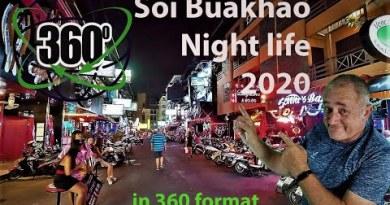 Thailand in 360 – Pattaya  Nightlife October third 2020
