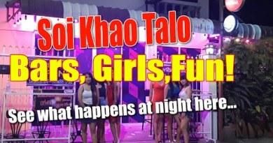 Pattaya Darkside – Soi Khao Talo bars at evening time. Some massive bars over here! (Nov 2020)