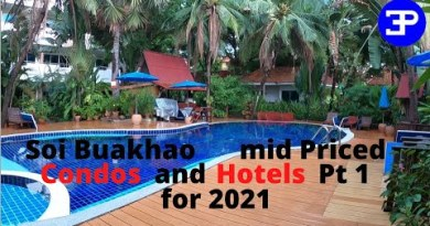 Pattaya Soi Buakhao mid priced Condos and Motels for 2021 Phase 1