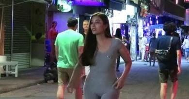 Ladyboys in Pattaya Metropolis Thailand