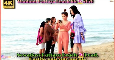 Pattaya Seaside motorway sunlight hours ll For the time being pattaya Seaside,playing of us 2020 ll TravelDC ll 4k.