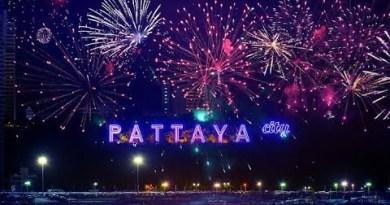 THAILAND PATTAYA HAPPY NEW YEAR 2021 #NEWYEAR