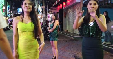 Pattaya Night Scenes: The Ladies Of Walking Aspect motorway Cannot Wait For Tourists To Return To Thailand. 4K