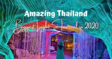 THAILAND'S BIGGEST LIGHT FESTIVAL IN 2020