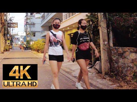 Pattaya 4K Stroll 2021 Jan 7. Lockdown quandary.BeachRoad Soi 12, 13, 13/1, 13/2, 13/3, 13/4
