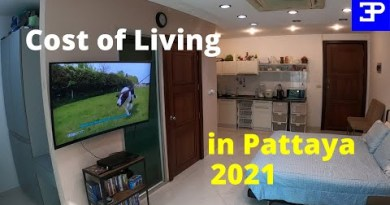 Monthly cost of retired residing in Pattaya Thailand 2021