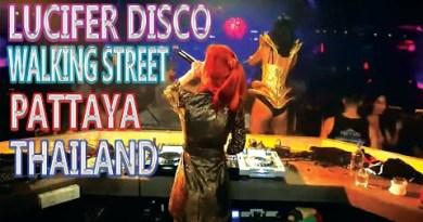 Lucifer disco strolling side motorway Pattaya, Thailand nightlife #walkingstreetPattaya