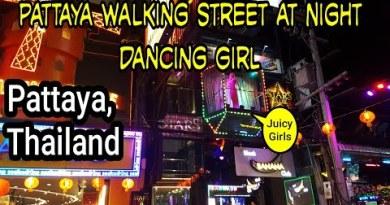 Pattaya Walking Side road at Evening – 2020 || Bongo Traveler
