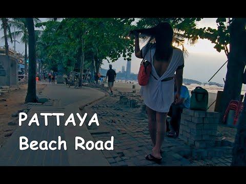 Pattaya coastline street scenes – 2020