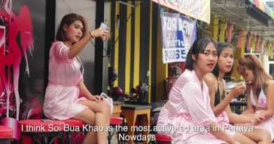 Bangkok Or Pattaya? The build is more fit? Therapeutic massage Road Scenes!