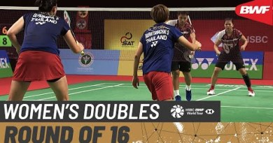 YONEX Thailand Open | Day 3: Supajirakul/Taerattanachai (THA) vs. Polii/Rahayu (IND) [5]