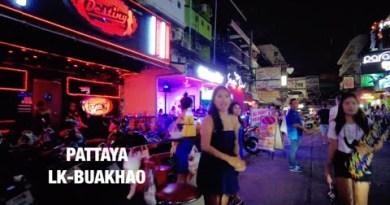 PATTAYA : Soi Buakhao-LK METRO Saturday Night  # Pattaya  #nightlife