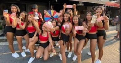 THAI BAR GIRLS GETTING LUCKY!! THAILAND