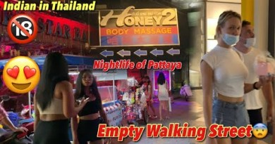 Pattaya Strolling Avenue Empty No person   But Soi Buakhao Serene Alive After Lockdown   Honey Rub down 2