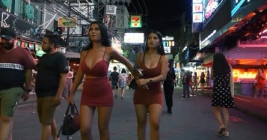 VLOG 37. Stylish People in Strolling Avenue, Pattaya  İndians,Foreigners and beatiful thai women