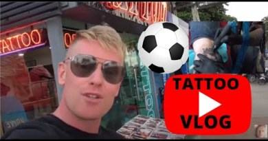 Getting Inked Up At Thai Crew Tattoo on Pattaya Seaside!