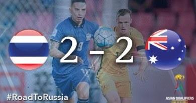 Thailand vs Australia (Asian Qualifiers – Avenue To Russia)