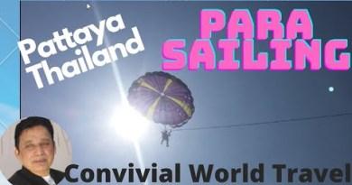 Parasailing a full cycle #pattaya, Thailand    Pattaya visiting spots   