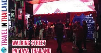 Walking boulevard nightlife Pattaya Thailand 2021 | Pattaya night scenes update