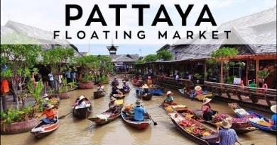 Pattaya Floating Market 2018 THAILAND