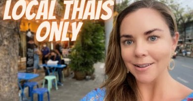 Most AUTHENTIC Thai boulevard food in Bangkok// my expat life in Thailand