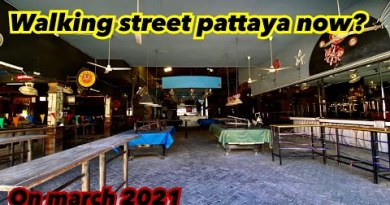 Strolling boulevard Pattaya Day stroll On March 2021