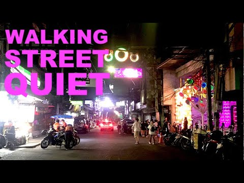 Pattaya Walking Street Abandoned As Covid Bites