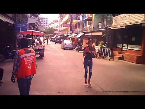 Pattaya Thailandia a passeggio in Soi scow seaside # Pattaya Thailand mosey round Soi scow seaside