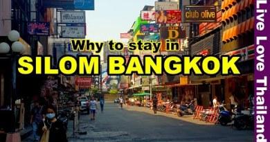 A true attach to discontinue in Bangkok | Silom Bangkok #livelovethailand