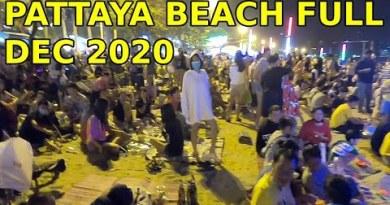Pattaya Seaside Full, December 2020 no where to take a seat down down, cherish it factual to behold. Tremendous cramped firework ending