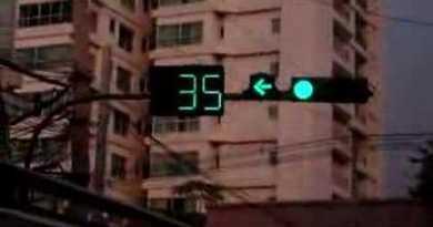 traffic light timer in thailand
