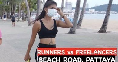 Pattaya Day Scenes Vlog: Beach Avenue And Soi 6 In Pattaya In Thailand
