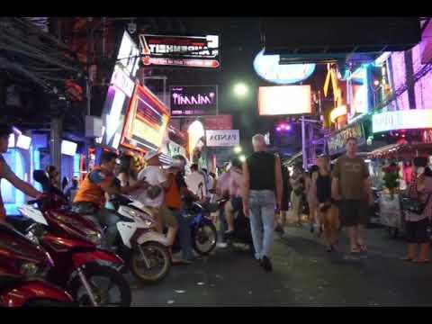 Pattaya Nightlife walking toll road bangkok    Pattaya Sea amble Avenue, soi Cowboy, soi 7 crimson mild district